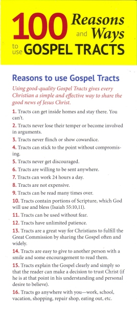 100 Ways to Use Tracts1